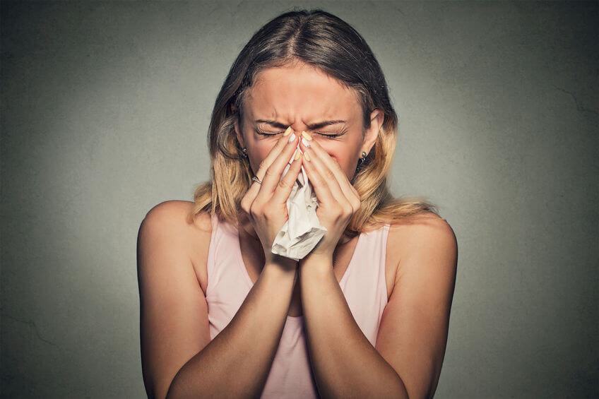 post nasale drip sinusitis