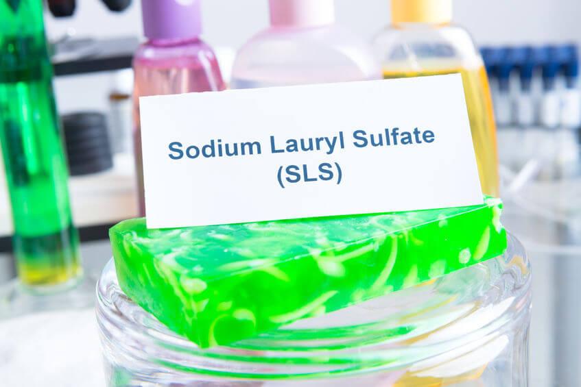 sls natrium sodium lauryl sulfaat
