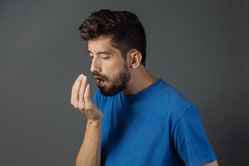 stinkende adem testen meten