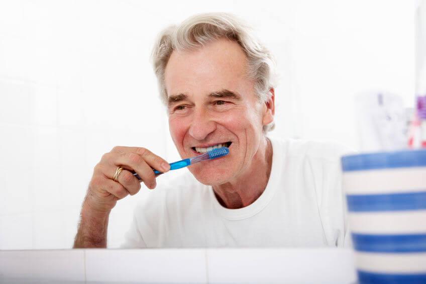 tandpasta tegen een droge mond