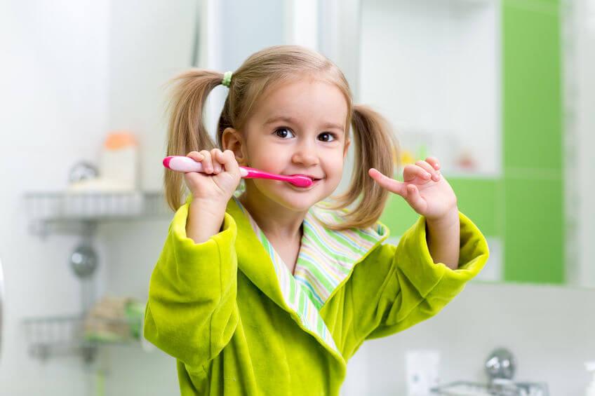 tanden poetsen peuters aanleren