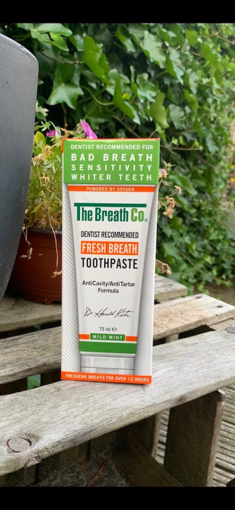 slechte adem tandpasta