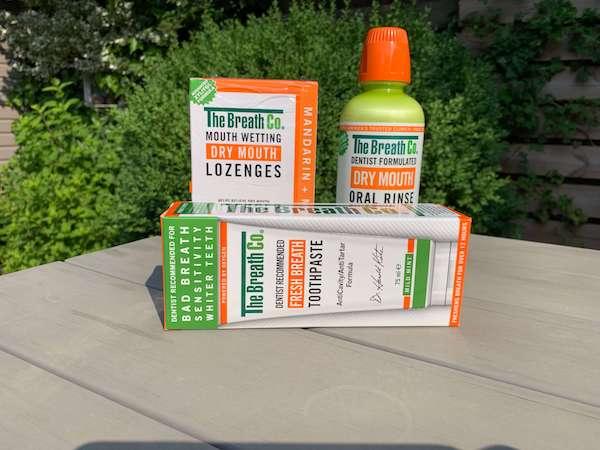beste middel tegen een droge mond
