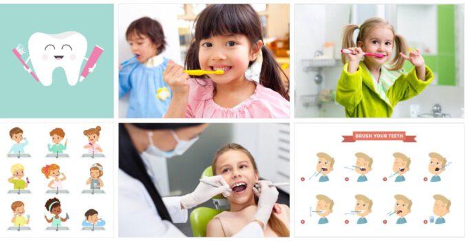kindergebit verzorgen