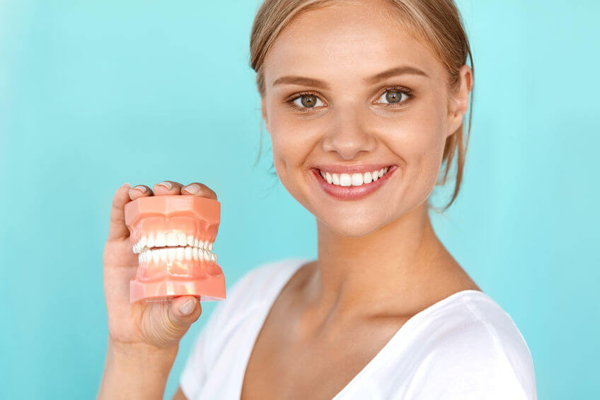 gaatjes cariës in tanden